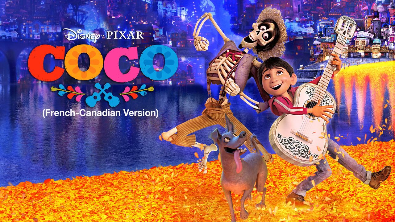 Coco (French-Canadian version) on Netflix Canada