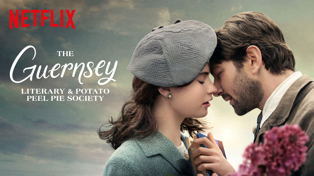 Risultati immagini per the guernsey literary and potato peel pie society