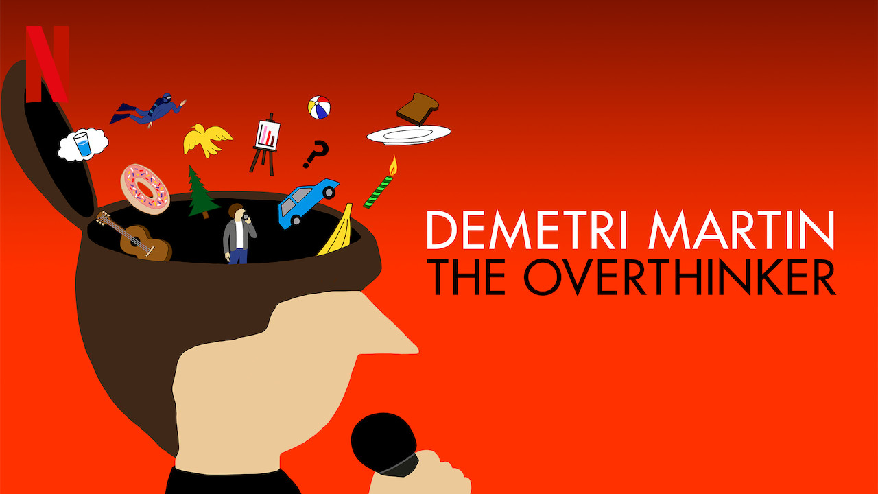 Demetri Martin: The Overthinker on Netflix Canada