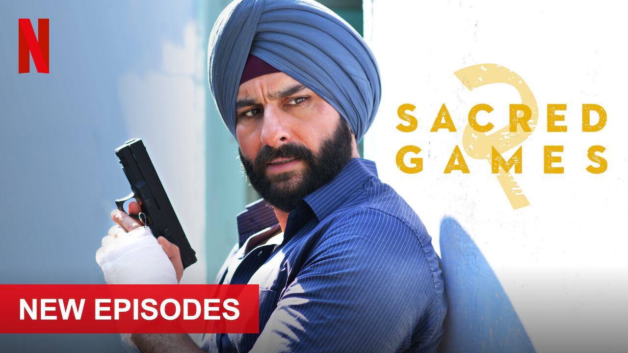 Sacred Games on Netflix Canada