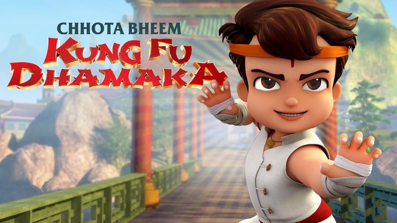 Chhota Bheem Kungfu Dhamaka on Netflix Canada