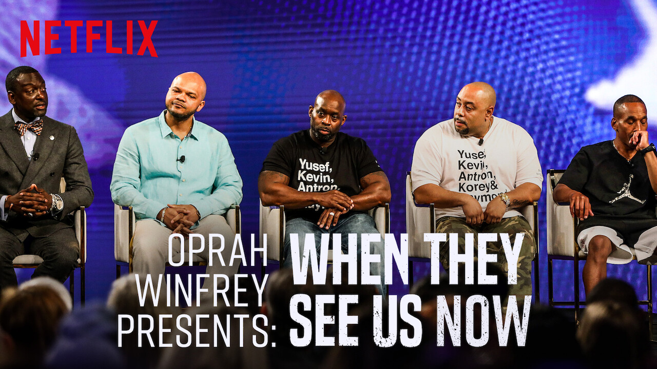Oprah Presents When They See Us Now on Netflix Canada